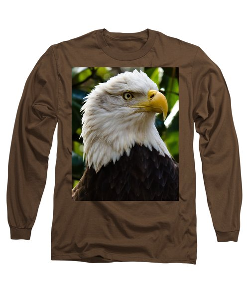 Bald Is Beautiful Long Sleeve T-Shirt by Robert L Jackson