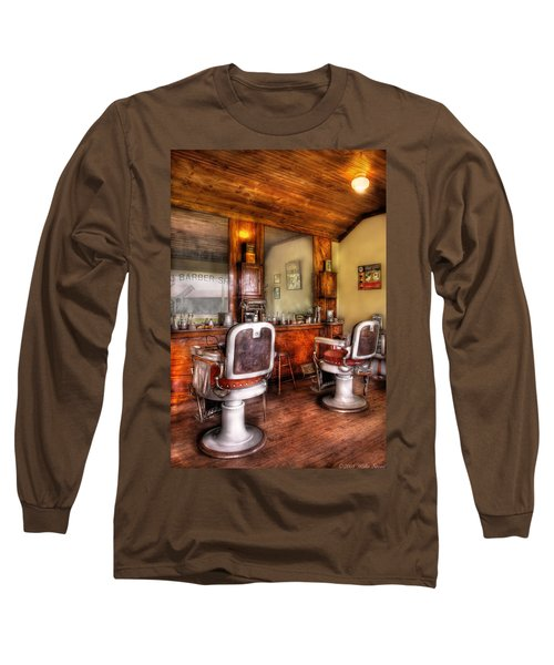 Barber - The Barber Shop II Long Sleeve T-Shirt