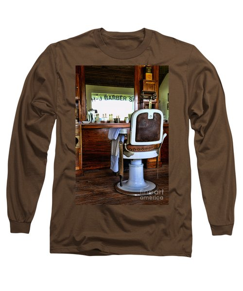 Barber - The Barber Shop Long Sleeve T-Shirt