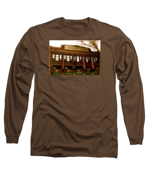 Baseballs Classic  V Bostons Fenway Park Long Sleeve T-Shirt
