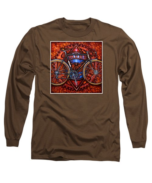 Bates Bicycle Long Sleeve T-Shirt by Mark Jones