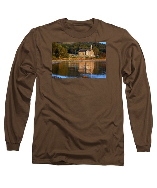 Long Sleeve T-Shirt featuring the photograph Bathed In Gods Light by Wendy Wilton