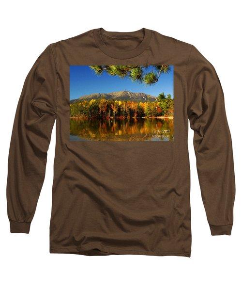 Baxter Fall Reflections  Long Sleeve T-Shirt by Alana Ranney