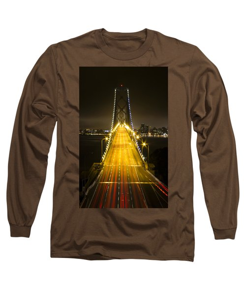 Bay Bridge Traffic Long Sleeve T-Shirt