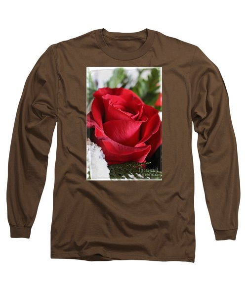 Be Inspired With Flowers And Art Long Sleeve T-Shirt by Ella Kaye Dickey
