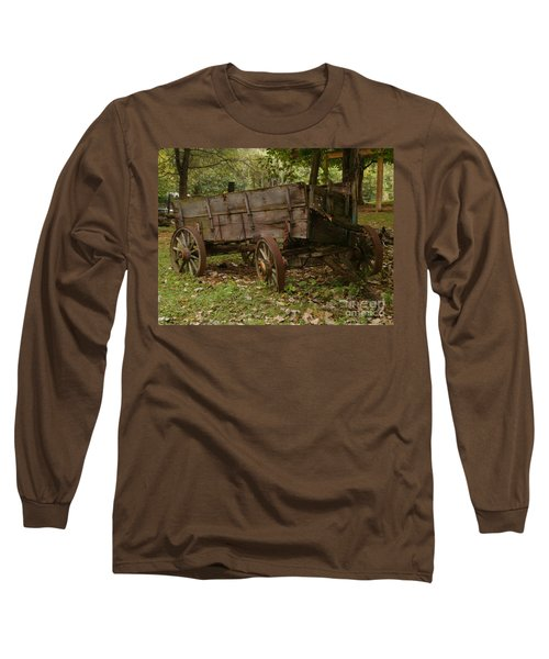Long Sleeve T-Shirt featuring the photograph Beaten By Time by Sara  Raber