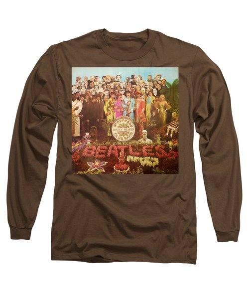 Beatles Lonely Hearts Club Band Long Sleeve T-Shirt