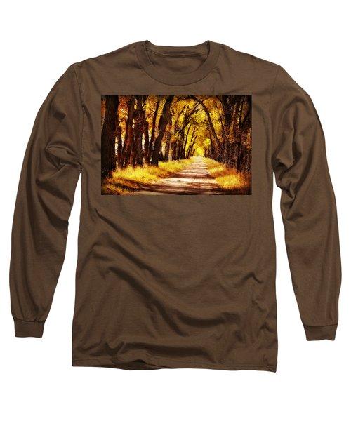 Beautiful Fall Day In Nebraska Long Sleeve T-Shirt