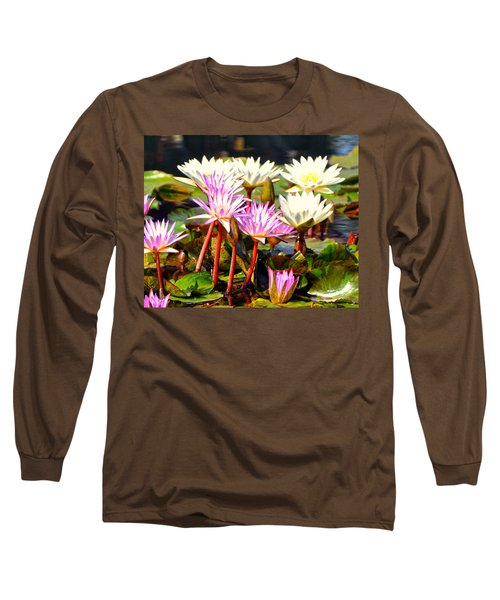 Long Sleeve T-Shirt featuring the photograph Beauty On The Water by Marty Koch