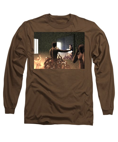 Becoming Disturbed Long Sleeve T-Shirt