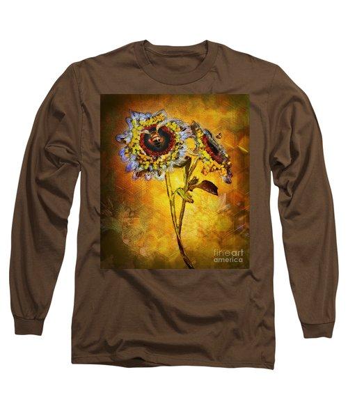 Bees To Honey Long Sleeve T-Shirt