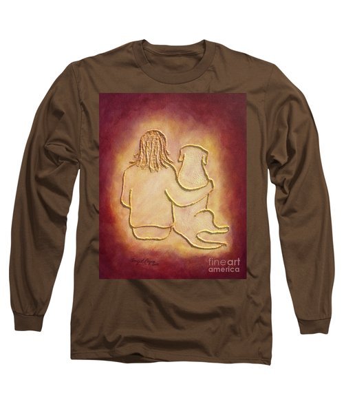 Being There 3 - Dog And Friend Long Sleeve T-Shirt