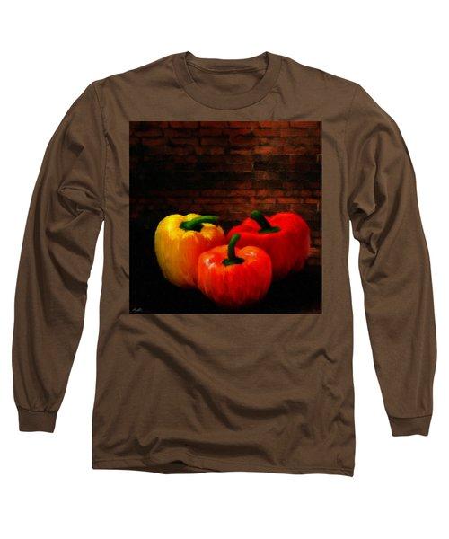 Bell Peppers Long Sleeve T-Shirt