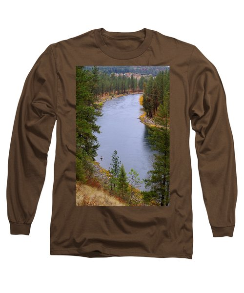 Bend In The River Long Sleeve T-Shirt