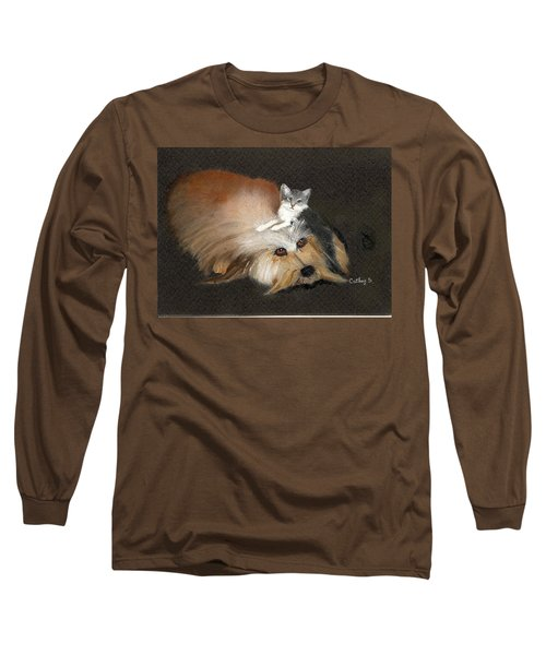 Best Friends Long Sleeve T-Shirt by Catherine Swerediuk