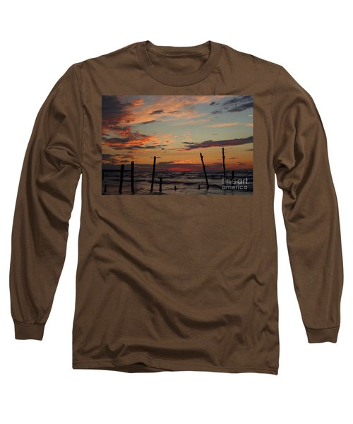 Long Sleeve T-Shirt featuring the photograph Beyond The Border by Barbara McMahon