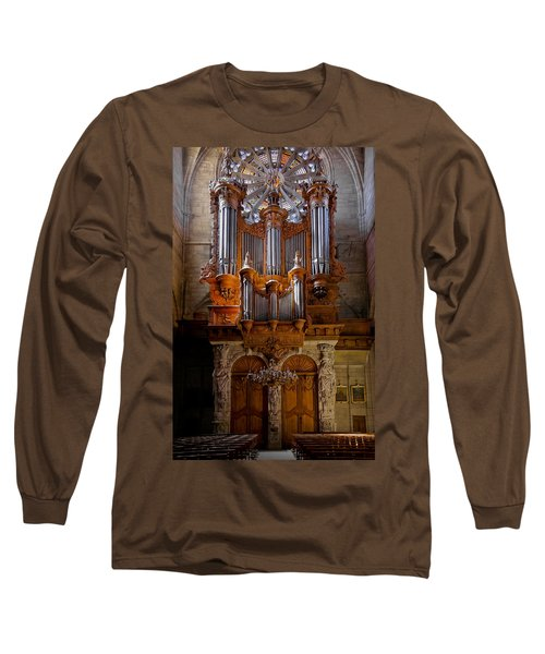 Beziers Pipe Organ Long Sleeve T-Shirt