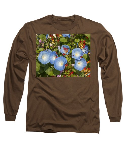 Bhubing Palace Gardens Morning Glory Dthcm0433 Long Sleeve T-Shirt