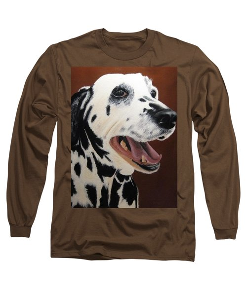 Bianca Rob's Dalmatian Long Sleeve T-Shirt