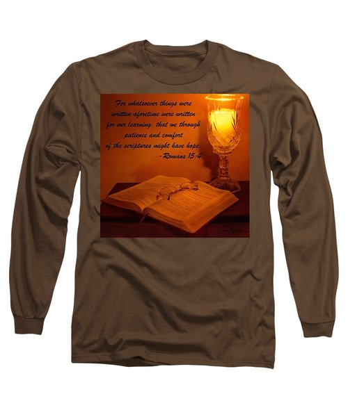 Bible By Candlelight Long Sleeve T-Shirt