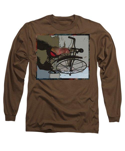 Bike Seat View Long Sleeve T-Shirt