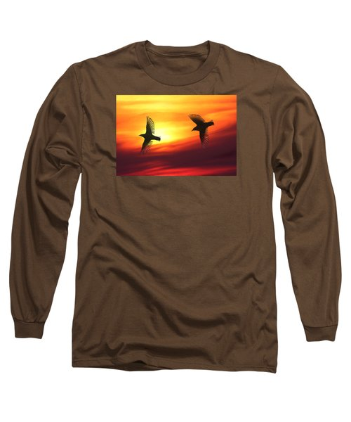 Bird Lovers Long Sleeve T-Shirt