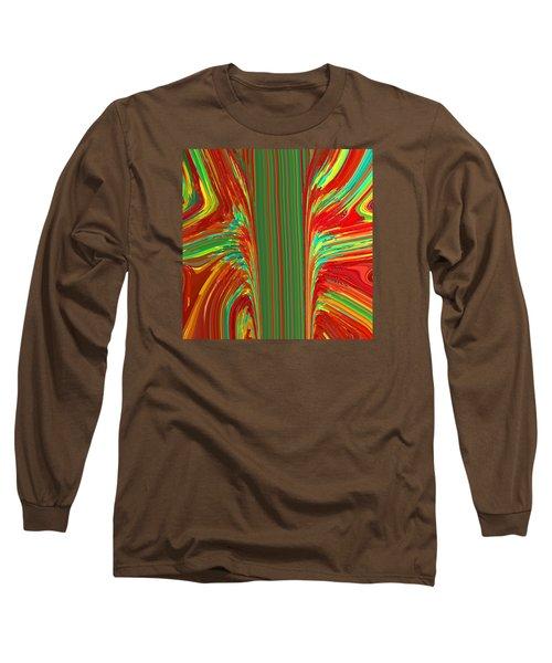 Bird Of Paradise I  C2014 Long Sleeve T-Shirt by Paul Ashby