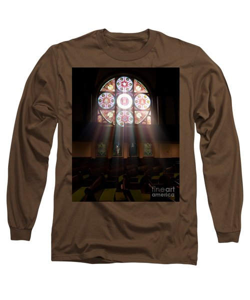 Birmingham Stained Glass Long Sleeve T-Shirt