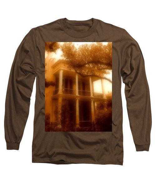 Birthplace Of A Vampire In New Orleans, Louisiana Long Sleeve T-Shirt by Michael Hoard