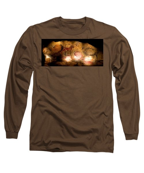 Bisons Horses And Other Animals Long Sleeve T-Shirt