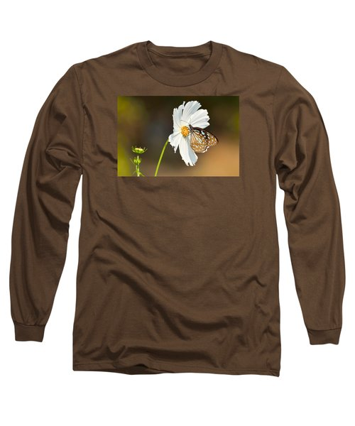 Black And White Long Sleeve T-Shirt by Fotosas Photography