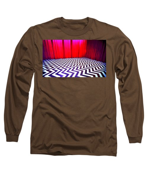 Black Lodge Blues Long Sleeve T-Shirt