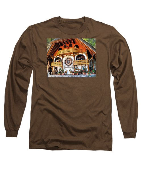 Blackforest Cuckoo Clock Long Sleeve T-Shirt