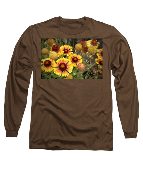 Blanket Flowers  Long Sleeve T-Shirt