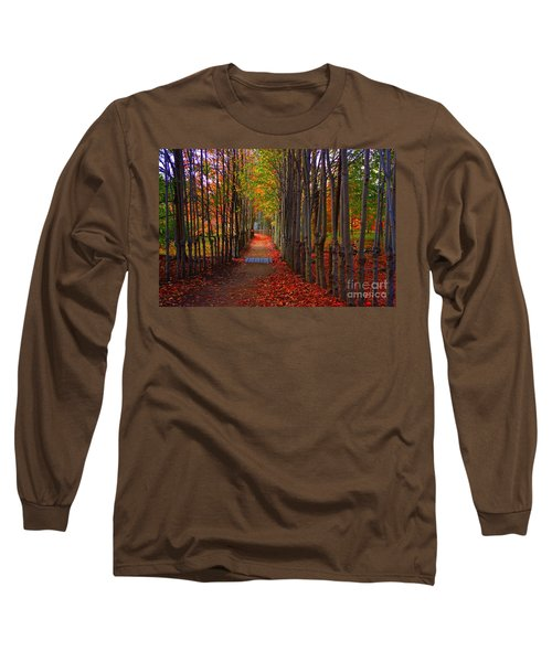 Blanket Of Red Leaves Long Sleeve T-Shirt