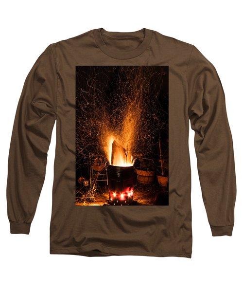 Blazing Bonfire Long Sleeve T-Shirt