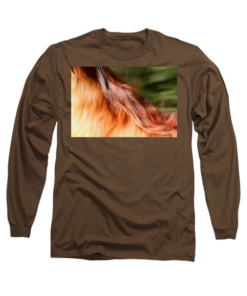 Blazing Fast Long Sleeve T-Shirt by Michelle Twohig