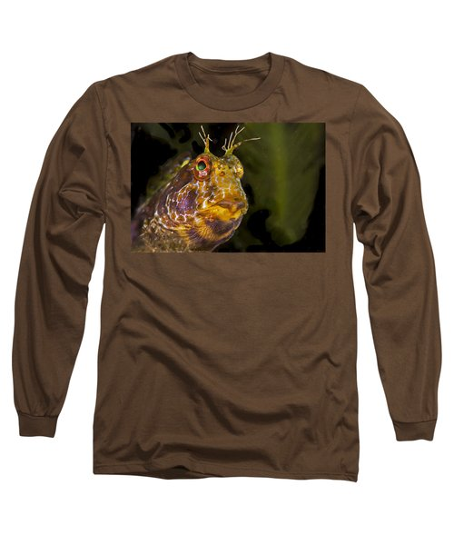 Blenny In Deep Thought Long Sleeve T-Shirt