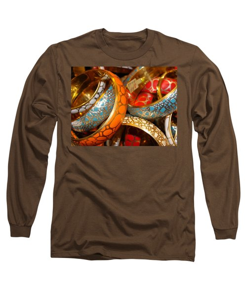 Long Sleeve T-Shirt featuring the photograph Bling by Ira Shander