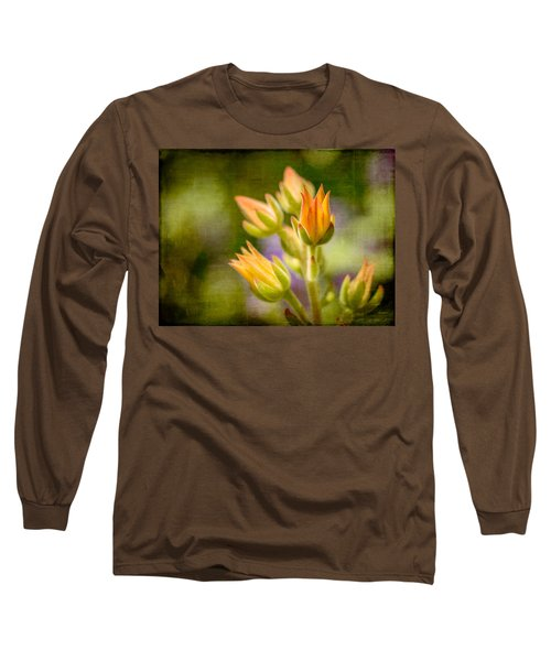 Blooming Succulents I Long Sleeve T-Shirt