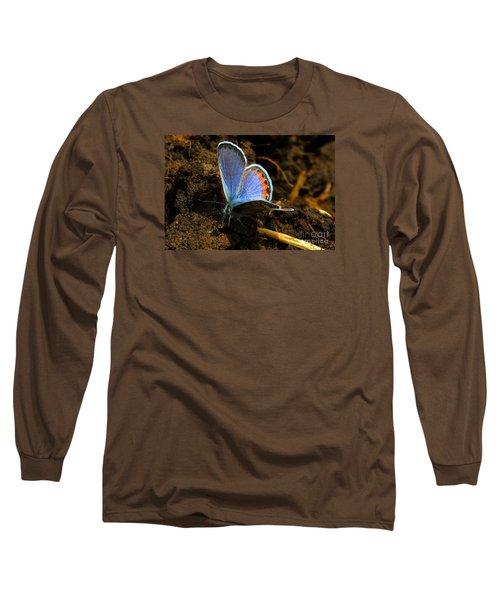 Blue Angel Long Sleeve T-Shirt by Janice Westerberg