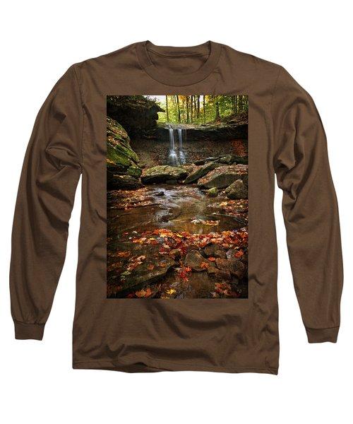 Blue Hen Falls In Autumn Long Sleeve T-Shirt