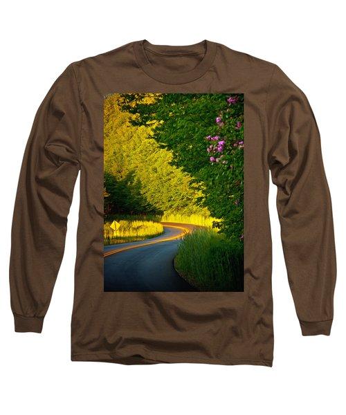 Long Sleeve T-Shirt featuring the photograph Blue Ridge Afternoon by John Haldane