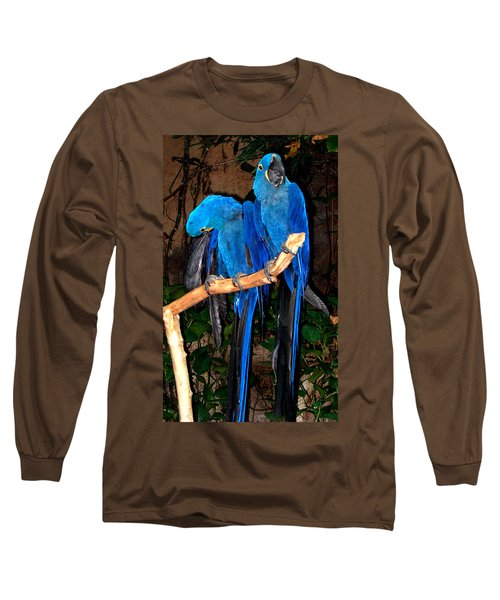 Blue Velvet Long Sleeve T-Shirt
