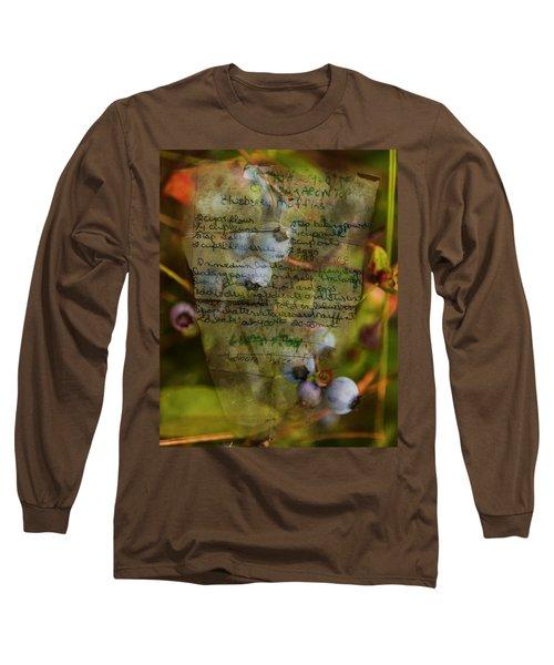 Blueberry Muffins Long Sleeve T-Shirt