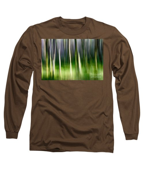 Long Sleeve T-Shirt featuring the photograph Blurred by Juergen Klust