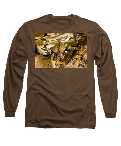 Boa Constrictor Long Sleeve T-Shirt by Gregory G. Dimijian, M.D.