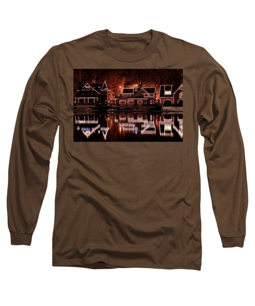 Boathouse Row Reflection Long Sleeve T-Shirt