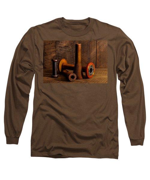 Bobbins And Spools Long Sleeve T-Shirt