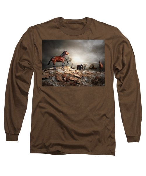 Born To Be Wild Long Sleeve T-Shirt